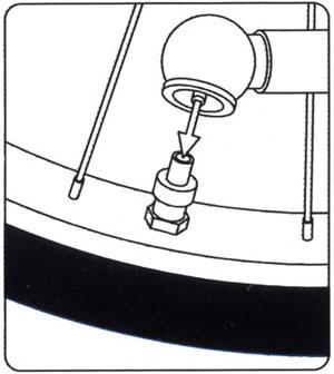 自転車の スポーツ自転車 空気入れ : 電動空気入れ機の使用方法